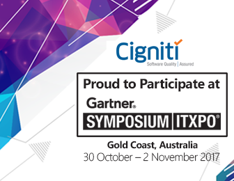 Meet Cigniti's Leadership At The Gartner Symposium/ITxpo