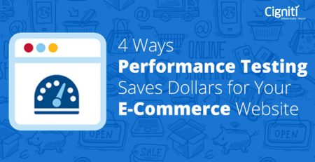 4 Ways Performance Testing Saves Dollars for Your E-Commerce Website