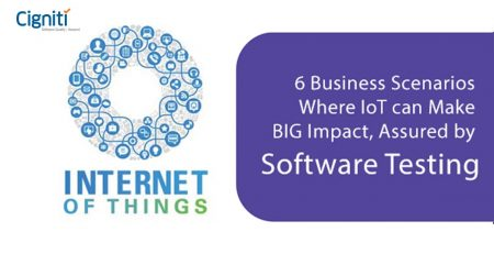 6 Business Scenarios Where IoT can Make BIG Impact, Assured by Software Testing