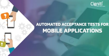 Automated Acceptance Tests for Mobile Applications