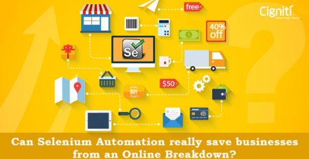 Can Selenium Automation really save businesses from an online breakdown?