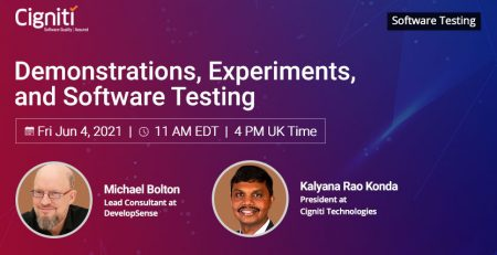 Demonstrations, Experiments, and Software Testing