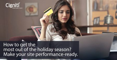 How to get the most out of the holiday season? Make your site performance-ready