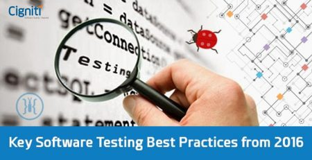 Key Software Testing Best Practices from 2016