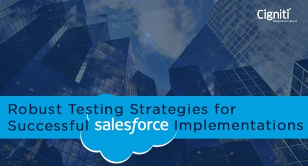 Salesforce com CRM Functional and Automation Testing Services