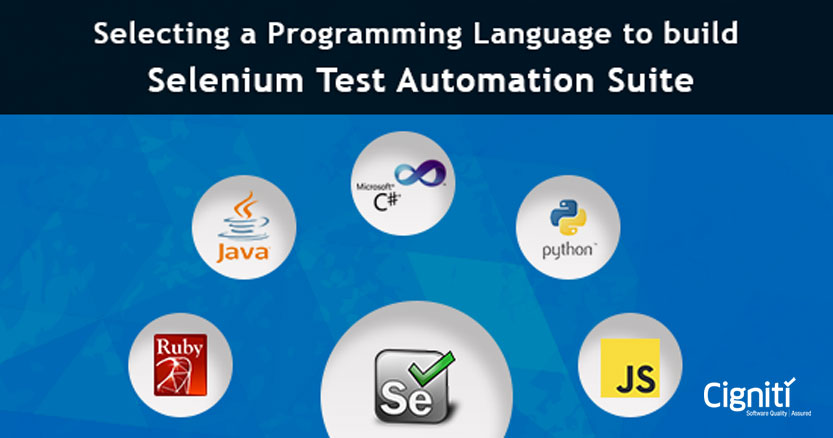 Selecting a Programming Language to build Selenium Test