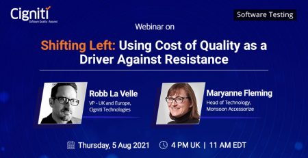 Shifting Left - Using Cost of Quality as a Driver Against Resistance