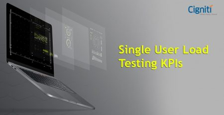 Single User Load Testing KPIs