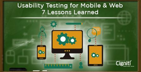 Usability Testing for Mobile & Web – 7 Lessons Learned