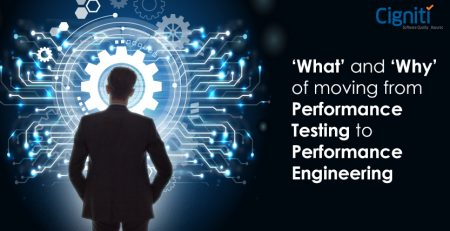 'What' and 'Why' of moving from Performance Testing to Performance Engineering.