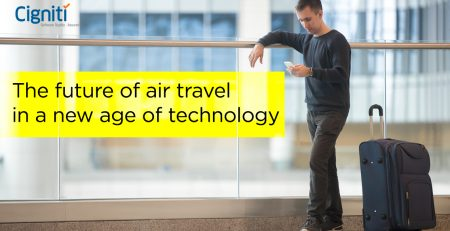 Air travel in new age of technology